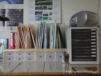 長男の学習用品の収納 - シンプルで心地いい暮らし