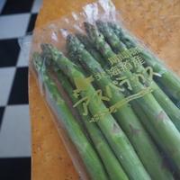 春野菜、アスパラガスで元気溌剌? - カフェのテントの下で~cafe chez nousの12ヵ月~