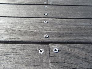 ウッドデッキ材の痩せ - 大工さんが木造住宅作ってるよ。