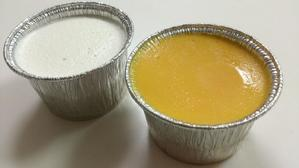 えぼしのプリン 2種類 - お弁当と春の空