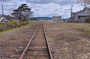 旧鶯沢駅付近の桜 - 栗駒山の里だより