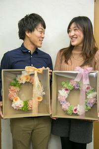 4月2日作成リポート 1DAY単発プリザーブドレッスン  - 一会 ウエディングの花