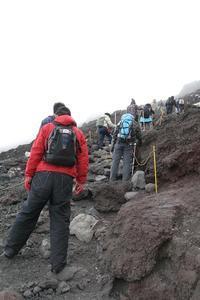 初めての富士登山(2007年) その19 - 季節(いま)を求めて
