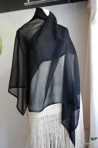 黒シルクヴェール6,7 - スペイン・バルセロナ・アンティーク gyu's shop