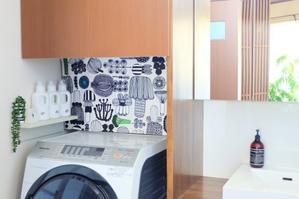 洗面室に「吊るす収納」を追加して、ノンストレス化ヾ(*´∀`*)ノ - WITH LATTICE