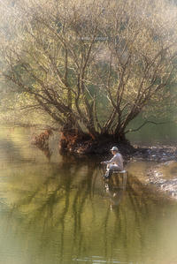 釣り人 - ぽとすのくずかご