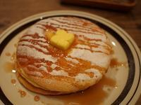 江戸川橋 ネマルカフェのパンケーキ - おいしいもの探し。