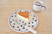 懐かしのスフレチーズケーキ☆ - ドイツより、素敵なものに囲まれて