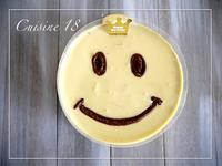 スマイリーなマンゴーレアチーズケーキ。 - cuisine18 晴れのち晴れ