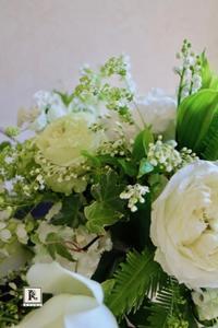 「森の中のウエディング」Wedding flower &wedding bouquet Nさま 2017.4.23 - Bouquets_ryoko