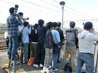 藤田八束の鉄道写真@EF65-2127貨物列車東海道本線岸辺駅で撮影・・・貨物列車写真 - 藤田八束の日記