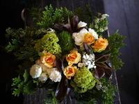 お祝いのお返しに。「春っぽい感じ」。2種。岩手県北上市に発送。2017/04/20着。 - 札幌 花屋 meLL flowers