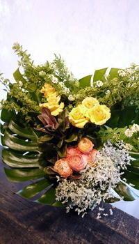 グランドホテルでの、会社の10周年記念パーティーに。2017/04/22。 - 札幌 花屋 meLL flowers