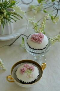 母の日ギフトカップケーキ - Something Sweet