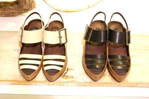 へりのあるサンダル / works - cinderella12-shoes&more