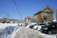 雪の残る小樽を歩く~色内から喫茶・北運河へ - 柳に雪折れなし!Ⅱ
