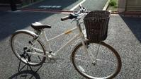 またぎやすいクロスバイク「パスチャー」に、泥除け・カゴを装備! - 大岡山の自転車屋TOMBOCYCLEのblog