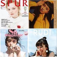 SPUR 6月号、Su magazine 他 - carboots