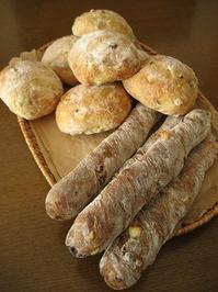 コーンと枝豆のパンほか - slow life,bread life