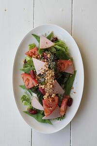 三角サラダ - Nasukon Pantry
