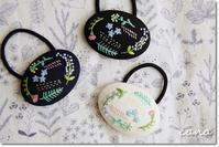 canaさんの草花刺繍のヘアゴム&Weddingのお仕事♪ - Ange(アンジュ) - 小林市の雑貨屋 -