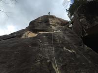 エクセレントパワー(5.13a) (4月24日) - ちゃおべん丸の徒然登攀日記
