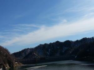 定山渓ダム - ゆのきのとミルクティー