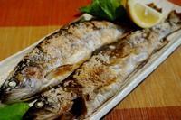 ■居酒屋メニュー【ニジマス・イワナの塩焼き】 - 「料理と趣味の部屋」