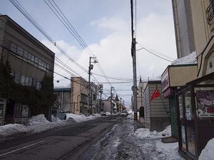 花園町 - 小樽スケッチ