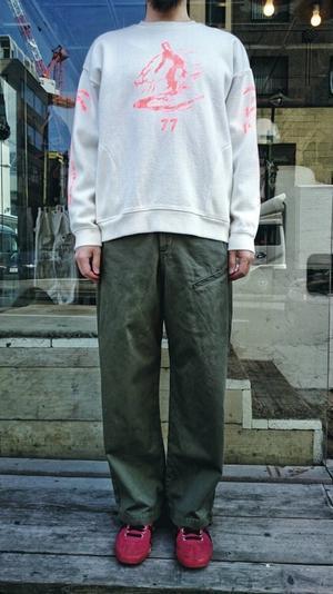 綿かつらぎバスキアパンツ - SAPPORO STAFF BLOG