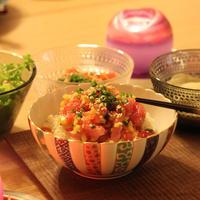マグロユッケごはん - HOSHIZORA DINING