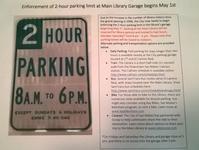"""サンマテオ中央図書館地下駐車場、2時間制になります! - プー太郎""""こぐれん""""のカリフォルニア生活記"""