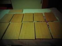 カフェトレー 完成。 - 手作り家具工房の記録