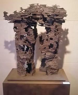 鉄彫刻/朽ちていく生命の輝き - サカオ ノ サカナ2