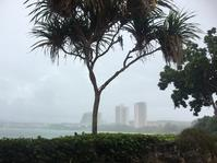 4月24日(月)  雲行きが怪しいグアムです。 - 常夏南国生活(GuamLife)