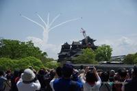 熊本復興飛翔祭 - オット、カメラ(と自転車)に夢中