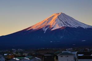 町中の富士山 23 - 写真日記
