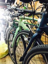 店内入れ替えに、中古クロスバイク - 自転車屋 TRIPBIKE