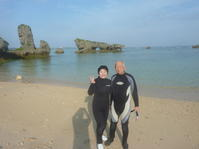 楽しみに年齢は関係なし ~早朝青の洞窟シュノーケリング~ - 沖縄本島最南端・糸満の水中世界をご案内!「海の遊び処 なかゆくい」