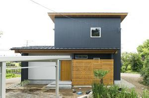杉板外壁+ウッドステインプロテクター - 大恭建興の家づくりブログ