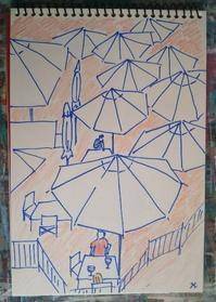 Day4 物価の高さに驚く - たなかきょおこ-旅する絵描きの絵日記/Kyoko Tanaka Illustrated Diary