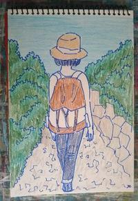 Day6 ロクルム島へ その2 - たなかきょおこ-旅する絵描きの絵日記/Kyoko Tanaka Illustrated Diary