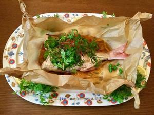 エスニック風 鯛の香草蒸しとミネストローネのファルファッレ - カフェ気分なパン教室  ローズのマリ