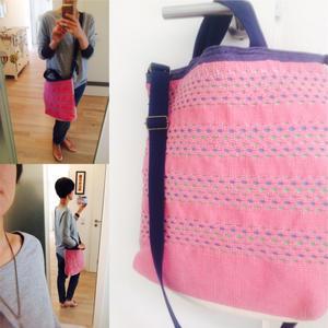 スウェーデン素材×日本の匠 手織りバッグ - ドイツでナチュラルライフ(の予定)