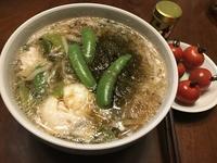糖質0g麺で 鶏南蛮うどん風~☆ - よく飲むオバチャン☆本日のメニュー