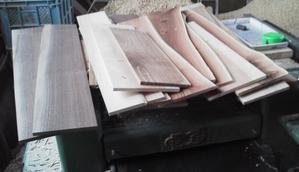 挽き割り・・・・材料作り - 木遊人masamiの十勝lifelog