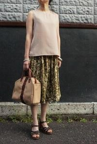 Coodinate 50's skirt - carboots
