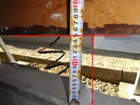 【土台上げ】工事の実際、その費用 - 北国の建築徒然草-山本プランニング一級建築士事務所
