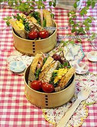 自家製カンパーニュでパン弁当♪ - ☆Happy time☆