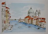 イタリアの旅:ヴェネツィア(2) - オヤジの水彩画集